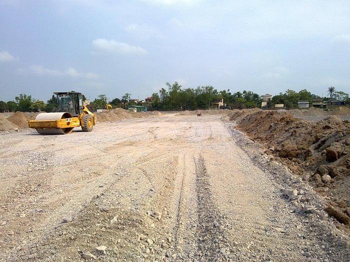 Cập nhật tiến độ dự án River Silk City (Tháng 4/2013)