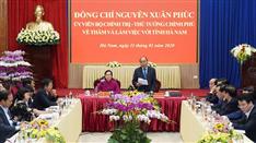 Thủ tướng nhất trí chủ trương bổ sung Hà Nam vào vùng Thủ đô