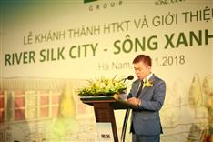 Tập đoàn CEO tổ chức Lễ khánh thành Hạ tầng kỹ thuật dự án River Silk City - Sông Xanh (Phân kỳ 2-3)