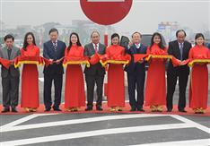 Thông xe đường nối cao tốc Hà Nội - Hải Phòng và Cầu Giẽ - Hà Nam - Ninh Bình