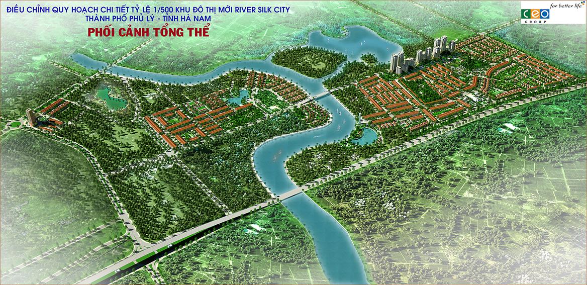 Quy hoạc tổng thể dự án River Silk City