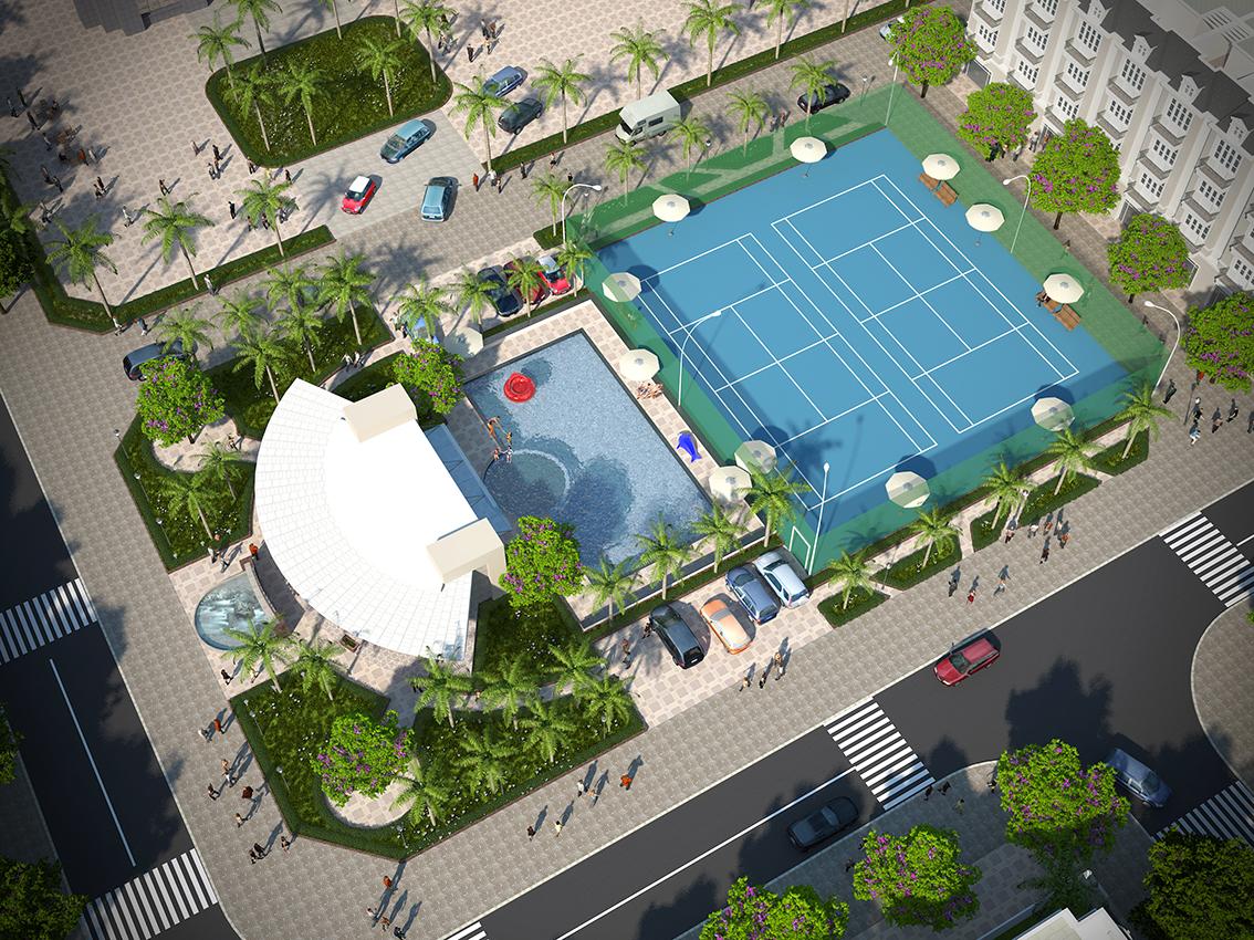 Sân chơi - Bể bơi